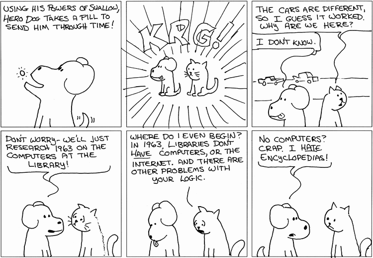Hero Dog And The Library