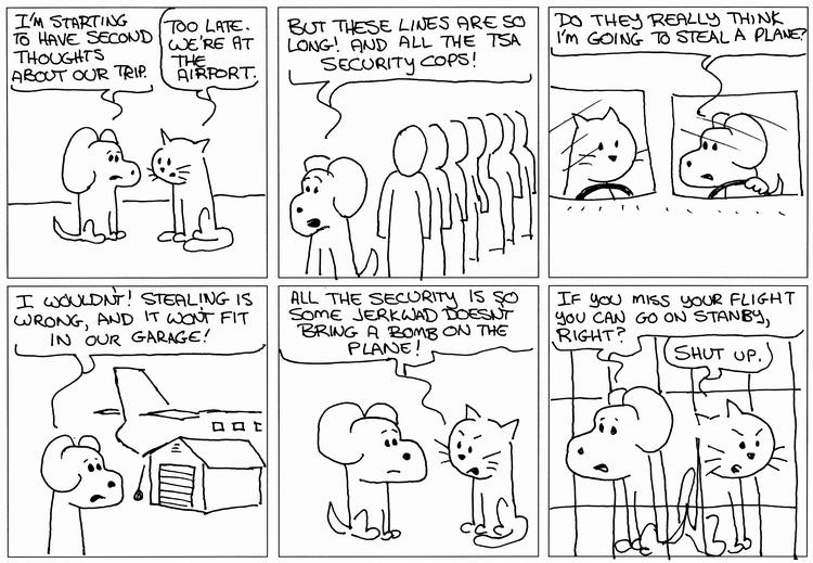 Hero Dog At The Airport