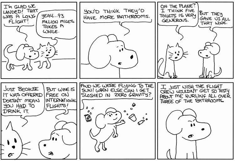 Hero Dog Deplanes