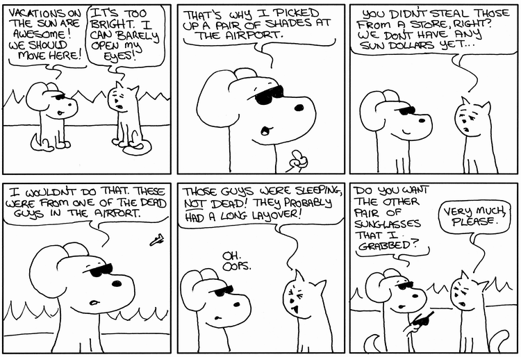 Hero Dog And The Sunglasses